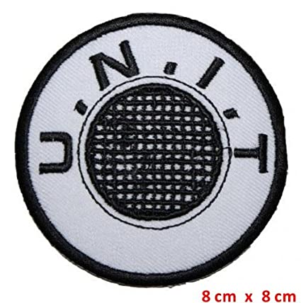 Unit Embroidered Doctor Who Classic Iron-on //Sew on Patch//Logo