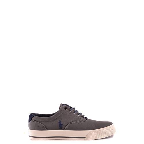 POLO RALPH LAUREN Vaughn Sneaker Hombre Zapatillas Gris: Amazon.es: Zapatos y complementos