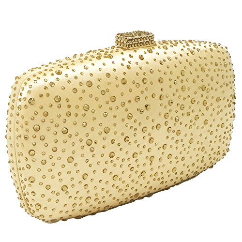 Bag Bag Hot Chain Bridal Clutch Bag Dinner Fashion Ladies Evening Handbag Gown Gold Banquet Cheongsam Bag Diamond 1pwZYgq