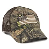outdoor caps - Outdoor Cap Men's Camouflage Americana Cap, Mossy Oak Break-up Country/Brown