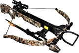 Jandao Chace-Star Recurve Hunting Crossbow with Scope/Stringer/Cocking Aid, 200-Pound/302 FPS For Sale