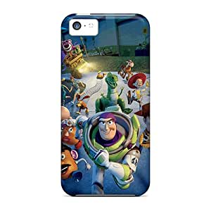 Best-phone-covers Iphone 5c Shock Absorption Hard Phone Case Unique Design Fashion Toy Story 3 Image [qGT2124uYKX]