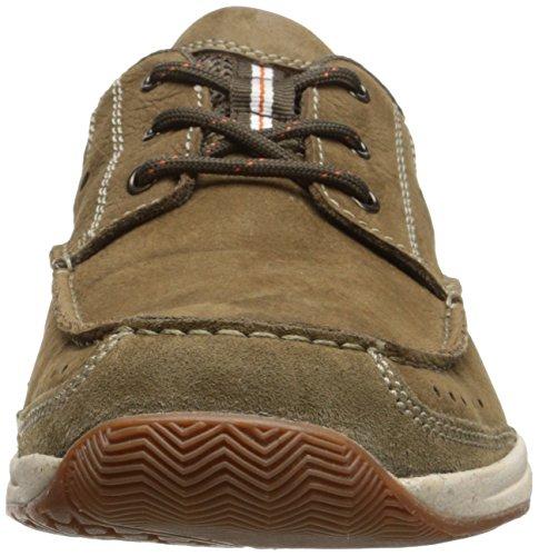 Allston Slip Men's On Loafer Olive Edge Nubuck Clarks H6Fw1