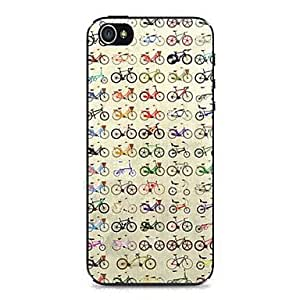 LCJ Cycling Pattern Hard Case for iPhone 4/4S
