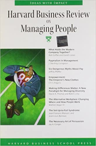 Harvard Business Review on Managing People (Harvard Business