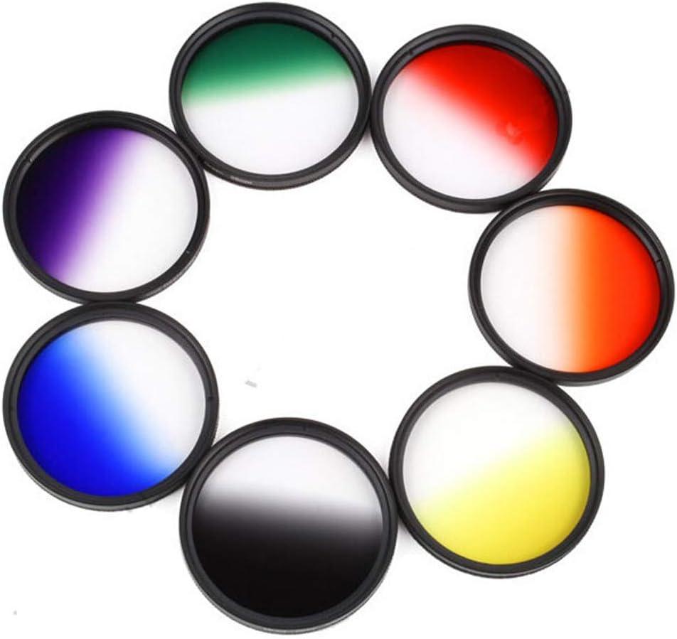 Market/&YCY Green Gradient Filter for Canon Nikon Sony All Brands of 52mm Digital SLR Camera Lens