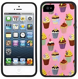 Cupcakes iPhone 5/5S Black Case iphone cover case for iphone bumper for women