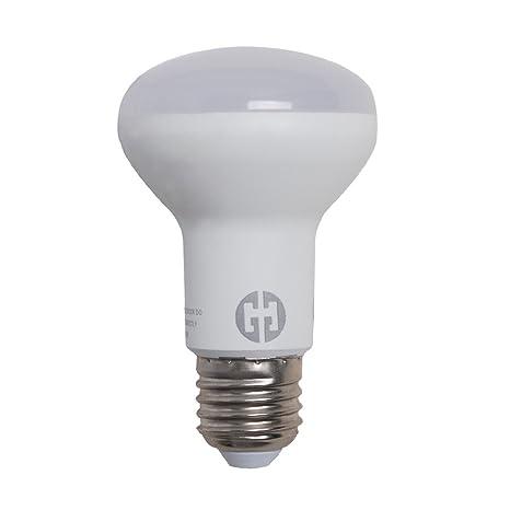 Bombilla THG 1x R63 E27 8W luz LED 5500K 600LM Voltaje 200-240V Dšªa Blanco Ninguno Regulable: Amazon.es: Iluminación