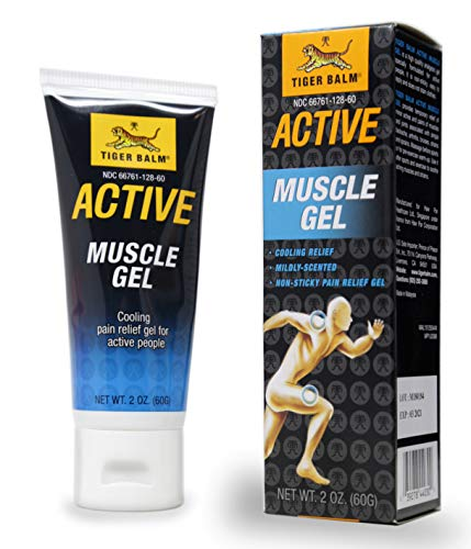 (TIGER BALM ACTIVE Series, Muscle Gel NET WT. 2 OZ. (Muscle Gel))