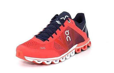 timeless design 6d33f d4159 Amazon.com | On Running Women's Cloudflow Road Shoes Crimson ...