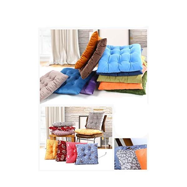 Worsendy Cuscino Sedia, Cuscini per giardino,Adatto per interni ed esterni,40x40x6cm,disponibile in tanti colori diversi… 3 spesavip