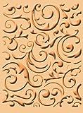 Cuttlebug A2 Embossing Folder, Musical Flourish