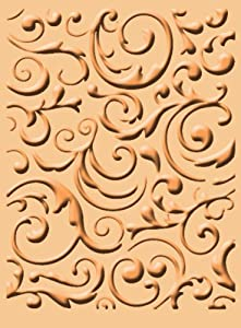 Amazon.com: Cuttlebug A2 Embossing Folder, Musical Flourish
