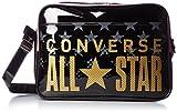 [Converse] shoulder bag enamel shoulder L size C1600052 (Black / Gold)