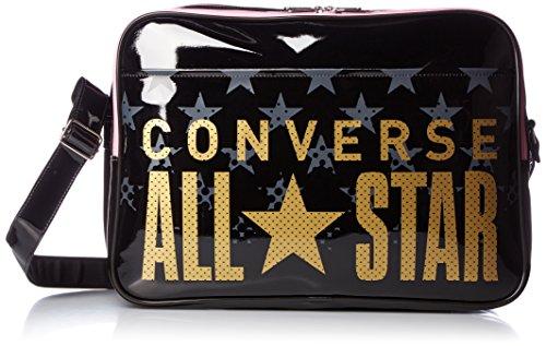 [Converse] shoulder bag enamel shoulder L size C1600052 (Black / (Converse Messenger)