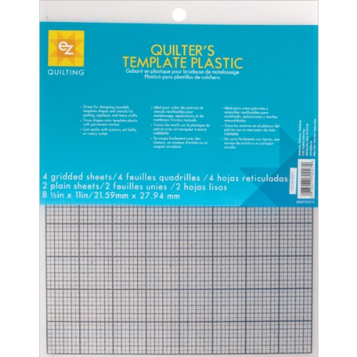 EZ Quilting 882670027 Quilter's Template Plastic Assortment, (Quilters Template)
