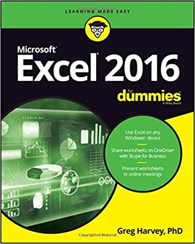 Amazon.com: Excel 2016 For Dummies (For Dummies (Computers ...