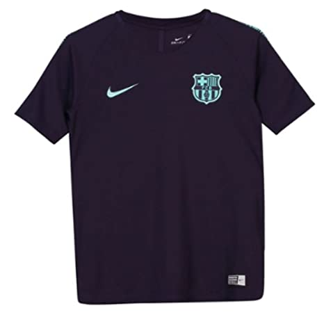 39d79cd4a Image Unavailable. Image not available for. Color  Nike 2018-2019 Barcelona  Training Football Soccer T-Shirt Jersey (Purple Dynasty)