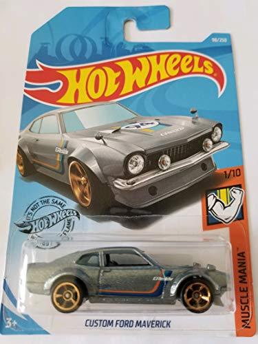 Hot Wheels 2019 Muscle Mania - Custom Ford Maverick, Gray 98/250]()