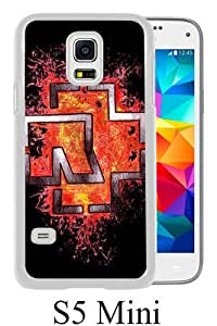 Fashionable Samsung Galaxy S5 Mini Case ,Unique Designed With Rammstein white Samsung Galaxy S5 Mini Cover High Quality Phone Case