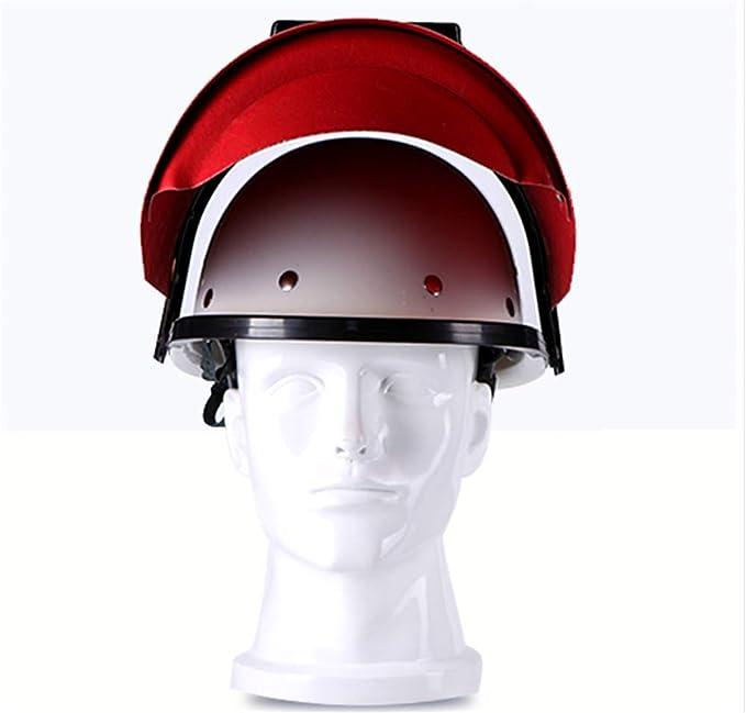Herramientas De Soldadura Eléctrica Máscara De Casco Y Gafas - Casco De Soldadura Máscara Mig Mascarilla Soldadora De Pulido - Rojo - 1 X Casco De ...