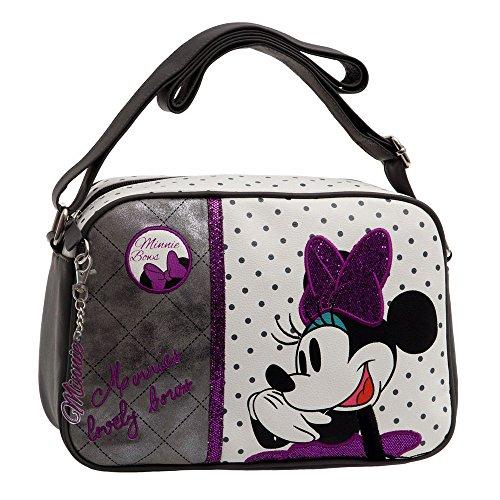 Disney Minnie Bows Bandolera, Color Blanco, 5.72 Litros