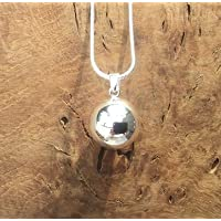Silver Simple Ball l Harmony Ball Necklace Kit l 'Mexican Bola' l A Lovely Pregnancy Gift