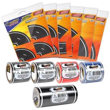 PlayTape Road Rally Road and Curve Assortment for 5-7 Kids - Road Car Tape Great for Kids, Sticker Roll for Cars and Train Sets, Stick to Floors and Walls, Quick Cleanup, Children Toys Birthday Gift by InRoad Toys (Image #1)