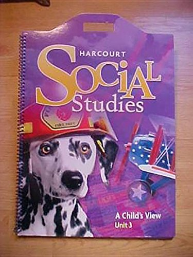 Harcourt School Publishers Reflections: Unit Soft Big Book Level 1 Marketplace PDF
