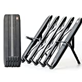 Camino Folding &'Transforming' Multi-Purpose Stand for Books, Black color