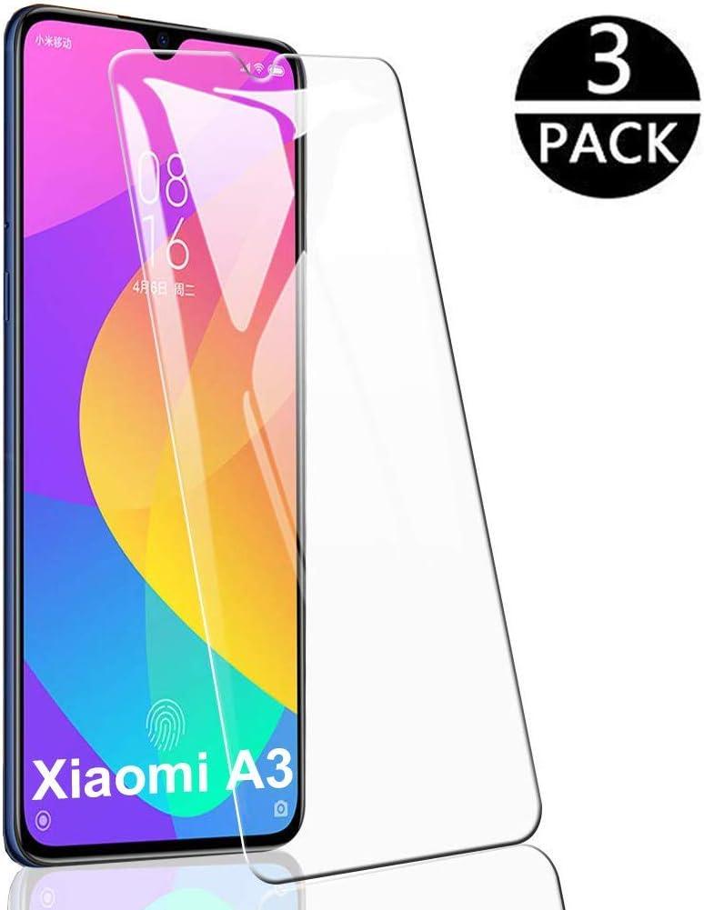 Flysee Protector de Pantalla Xiaomi Mi A3 Cristal Templado Xiaomi ...