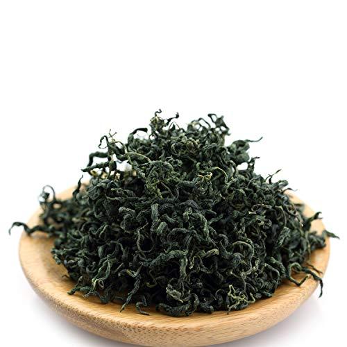 GOARTEA 100g (3.5 Oz) Supreme Organic Seven Leaf Jiao Gu Lan Jiaogulan Herbal Flower Gynostemma Chinese GREEN TEA