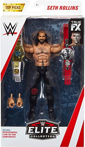 WWE Top Picks Seth Rollins Elite Collection Figure