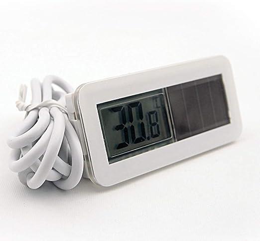 K-Y El Termómetro Digital Solar del Termómetro del Congelador A ...