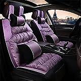 YAOHAOHAO Universal car velvet cush ion car seat covers