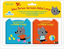 Mes Livres De Bain Bebe Loup French Edition Emiri Hayashi