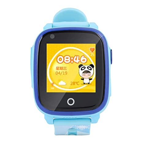 Amazon.com: Bewinner Reloj inteligente para niños, reloj GPS ...