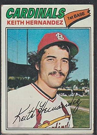 Amazoncom 1977 Topps Keith Hernandez Cardinals Baseball