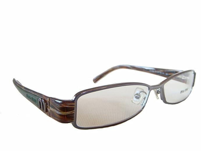 ex display miu miu by prada vmu 60e glasses spectacles eyeglasses frames - Miu Miu Eyeglasses Frames