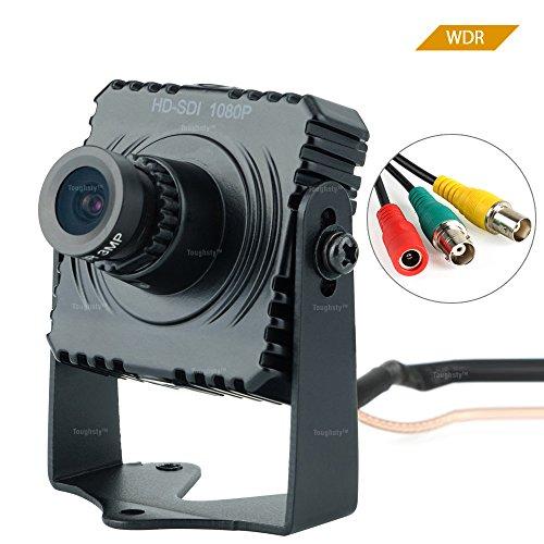 Toughsty 2.1MP 1920x1080P Color Mini HD-SDI Camera CCTV Security Camera with OSD Menu
