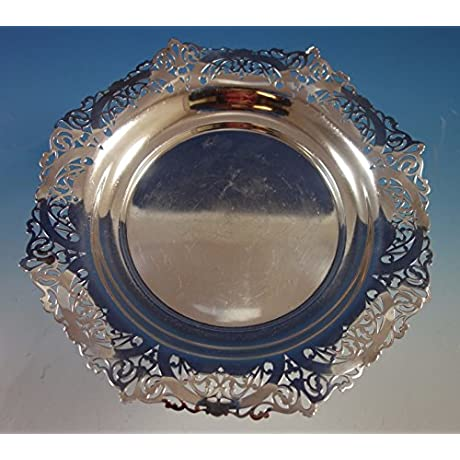 Whitehall By International Sterling Silver Bowl Pierced 10 W497 1845