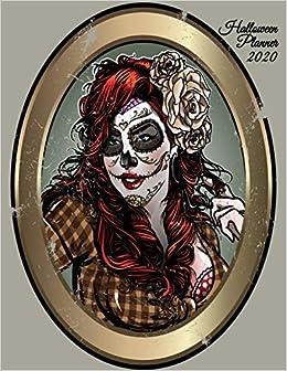 Dia De Halloween 2020 Halloween Planner 2020: Dia De Los Muertos Calendar 2020   Undated