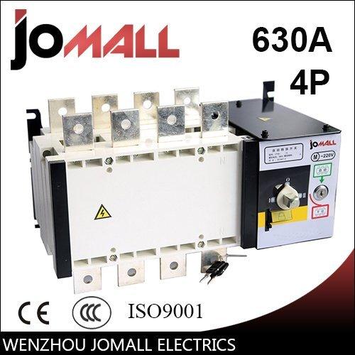 - Jomall 630amp 220V/ 230V/380V/440V 4 pole 3 phase automatic transfer switch ats