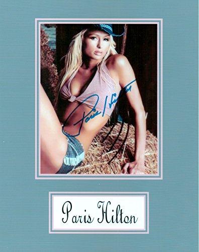 Paris Hilton 8 X 10 Photo Autograph on Glossy Photo Paper