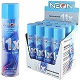Neon 11x Ultra Refined Butane Fuel Lighter Refill Gas Pack of 12