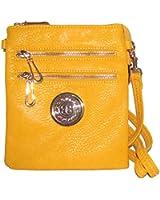 Zipper Cross Body Handbag