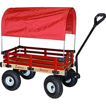 Amazon Com Millside Industries Wooden Express Wagon Full