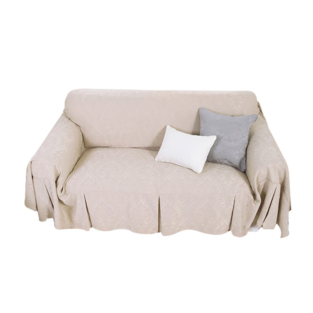 Sofa Cover Light Color Non-slip Dust-proof Durable Soft Thicken Sofa Towel Cloth Full Cover Refreshing (Size : 200cm200cm)