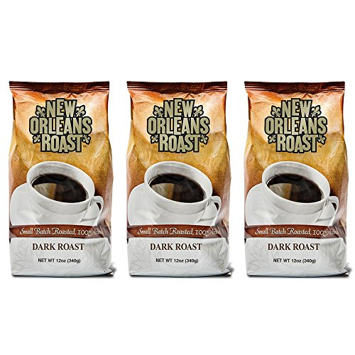 New Orleans Roast Coffee & Tea Dark Roast Ground Coffee, Pack of - Coffee Orleans New Roasted