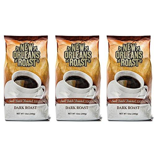 New Orleans Roast Coffee & Tea Dark Roast Ground Coffee, Pack of - New Coffee Orleans Roasted